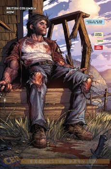Extrait de Death of Wolverine (2014) -1- Death of Wolverine #1 McNiven Cover