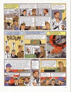 Extrait de Blake et Mortimer -3d14- Le Secret de l'Espadon - Tome 3