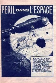 Extrait de Jet Logan (puis Jet) -4- Péril dans l'espace