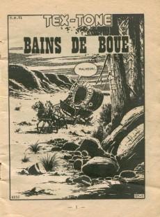 Extrait de Tex-Tone -286- Bains de boue
