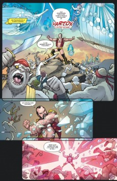 Extrait de Power Girl (Urban Comics) -2- Sois belle et bats-toi
