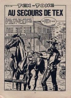 Extrait de Tex-Tone -477- Au secours de Tex