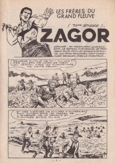 Extrait de Yuma (1re série) -153- Zagor - Les frères du grand fleuve