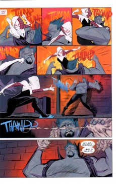 Extrait de Edge of Spider-Verse (2014) -2- Glen Stacy, Spider-Woman