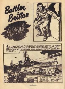 Extrait de Battler Britton -19- Suspense - La plage du péril - Maître d'armes