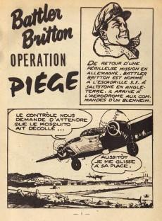 Extrait de Battler Britton (Imperia) -111- Opération piège - combat inégal