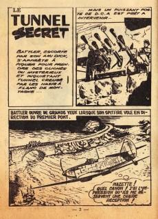 Extrait de Battler Britton (Imperia) -62- Le tunnel secret (2) - les eaux profondes