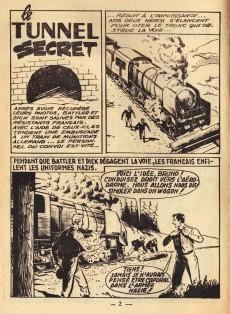 Extrait de Battler Britton -63- Le tunnel secret (3) - les eaux profondes