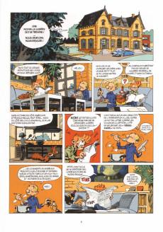 Extrait de Spirou et Fantasio -54- Le Groom de Sniper Alley