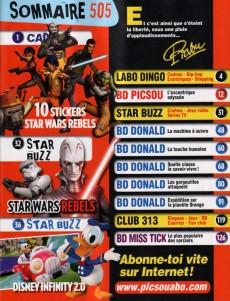 Extrait de Picsou Magazine -505- Picsou Magazine n° 505
