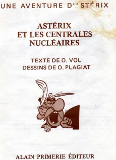 Extrait de Astérix (Autres) - Astérix et les centrales nucléaires