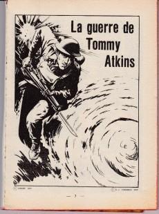 Extrait de Feu -7- La guerre de Tommy Atkins