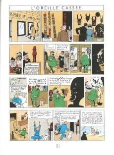 Extrait de Tintin (Fac-similé couleurs) -6- L'oreille cassée