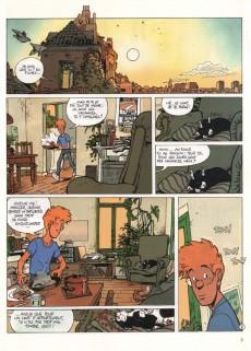 Extrait de Broussaille -3- La nuit du chat