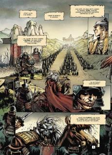 Extrait de Samurai Légendes -3- L'aube Rouge