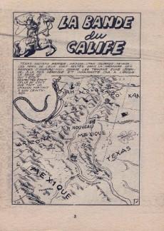 Extrait de West (Jeunesse et Vacances) -1- La bande du Calife
