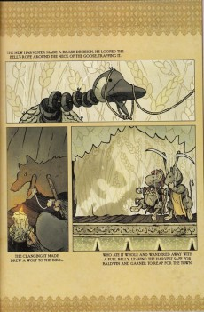 Extrait de Free Comic Book Day 2012 - Mouse Guard / Labyrinth and Other Stories: A Free Comic Book Day Hardcover Anthology
