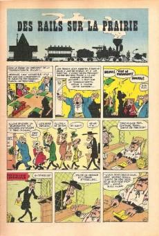 Extrait de Lucky Luke -9a67- Des rails sur la prairie