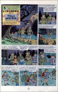 Extrait de La patrouille des Castors -3a67- L'inconnu de la villa mystère