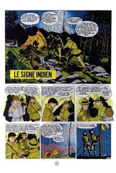 Extrait de La patrouille des Castors -10a66- Le signe indien