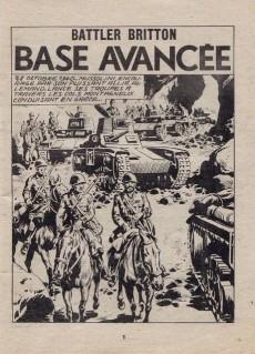 Extrait de Battler Britton (Imperia) -449- Base avancée