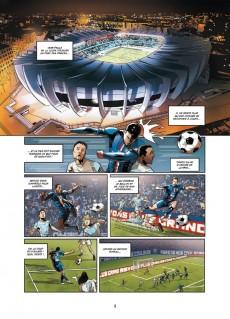 Extrait de PSG Heroes -1- Menace capitale