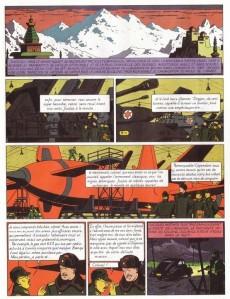 Extrait de Blake et Mortimer -1c00- Le Secret de l'Espadon - Tome 1