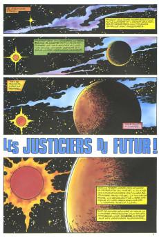 Extrait de Top BD -5- Les Justiciers du Futur