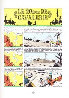Extrait de Lucky Luke -27FL2- Le 20ème de cavalerie