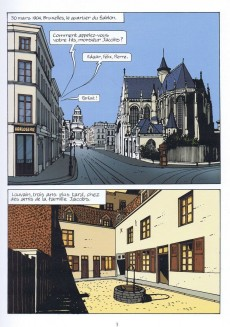 Extrait de La marque Jacobs -a- La Marque Jacobs, une vie en bande dessinée