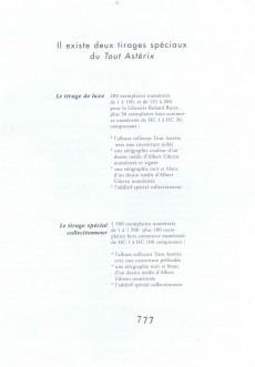 Extrait de Astérix (Autres) -1CofCol- Tout Astérix
