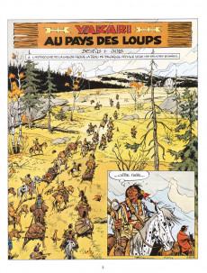 Extrait de Yakari -8b2002- Au pays des loups