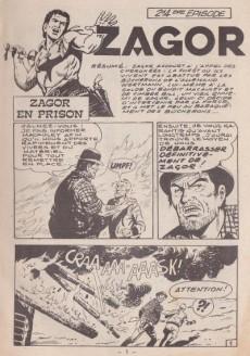 Extrait de Yuma (1re série) -294- Zagor - Zagor en prison