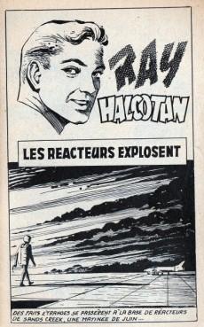 Extrait de Ray Halcotan -3- Les réacteurs explosent