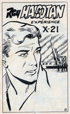 Extrait de Ray Halcotan -7- Expérience x-21