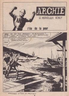 Extrait de Archie (Jeunesse et Vacances) -40- L'île de la peur