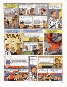 Extrait de Blake et Mortimer (Les Aventures de) -3b1990- Le Secret de l'Espadon - Tome 3