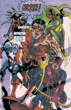 Extrait de Tales of the Marvels -INT- Marvels Companion