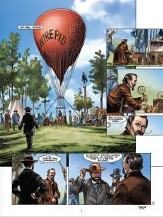 Extrait de Pinkerton -3- Dossier massacre d'Antietam - 1862