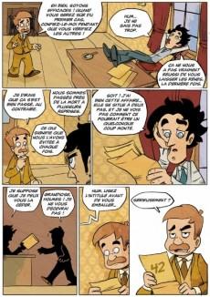 Extrait de Sherlock Holmes - La BD dont vous êtes le héros -2- Quatre enquêtes de Sherlock Holmes