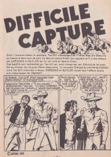 Extrait de Tex Bill -12- Difficile capture