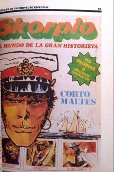 Extrait de (AUT) Pratt, Hugo (en espagnol) -TL- Panorama de la historieta en la Argentina