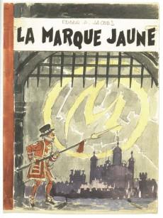 Extrait de Blake et Mortimer (Les Aventures de) -HS2- Les Carnets d'Edgar P. Jacobs