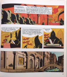 Extrait de Corto Maltese (en néerlandais) - Fabel van venetië