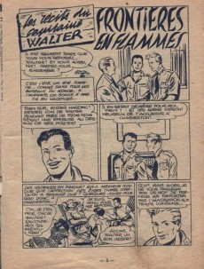 Extrait de Whipii ! (Panter Black, Whipee ! puis) -16- les récits du Capitaine Walter - Frontières en flammes