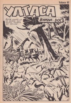 Extrait de Yataca (Fils-du-Soleil) -82- Bwana doc