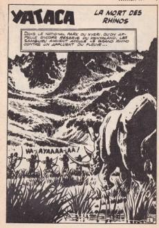 Extrait de Yataca (Fils-du-Soleil) -101- La mort des rhinos