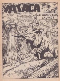 Extrait de Yataca (Fils-du-Soleil) -74- Le dompteur sauvage