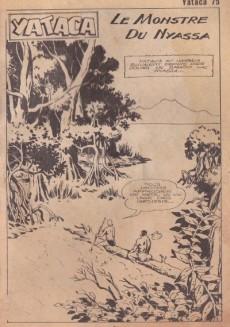 Extrait de Yataca (Fils-du-Soleil) -75- Le monstre du Nyassa
