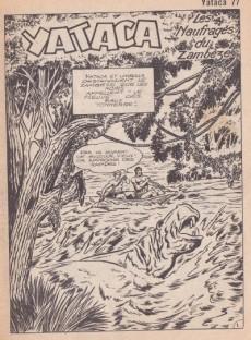 Extrait de Yataca (Fils-du-Soleil) -77- Les naufragés du Zambèze